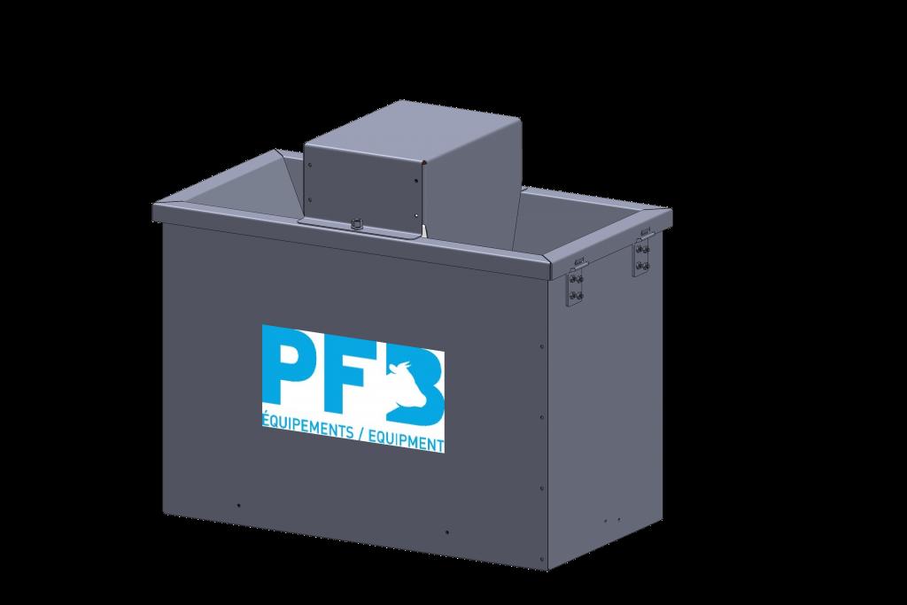 abreuvoir echauffant - installation agricole - stabulation / Équpements PFB