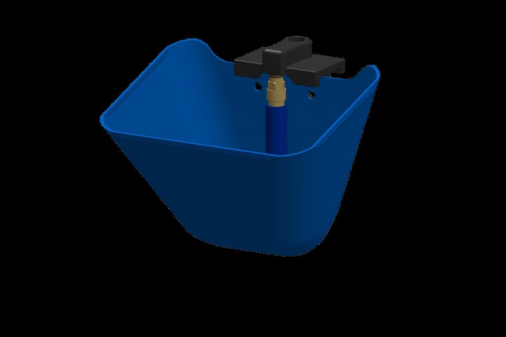 abreuvoir en plastique - installation agricole - stabulation / Équpements PFB