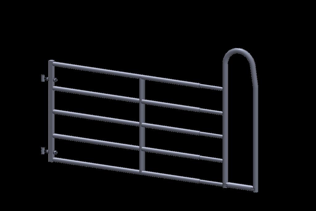 barrière avec passage pour homme - installation agricole - stabulation / Équpements PFB