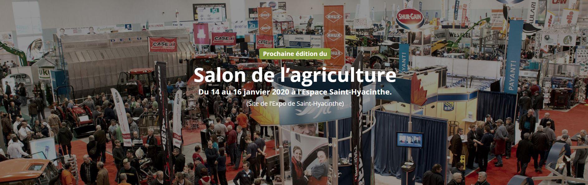 Salon de l'Agriculture St-Hyacinthe 2020